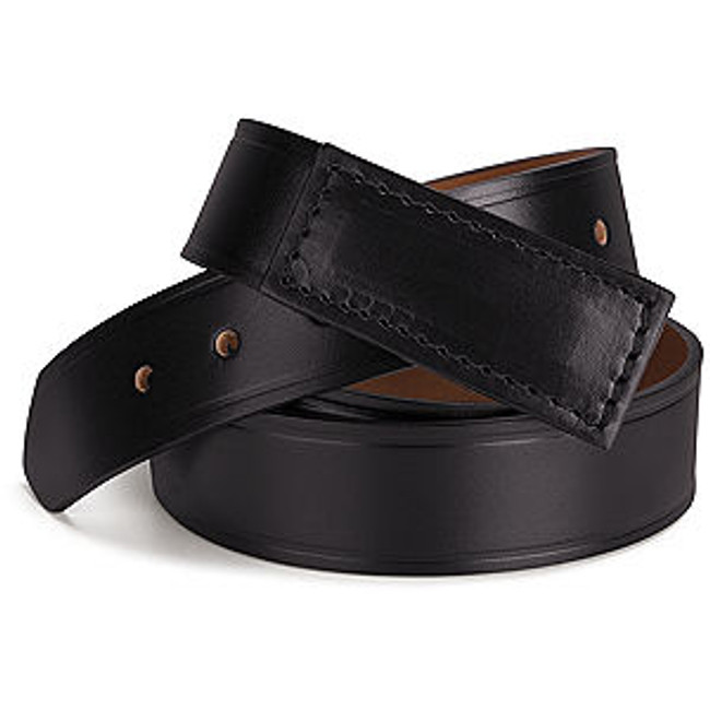 Zeroskratch Leather Belt - AB12 Black Scratchless Belt