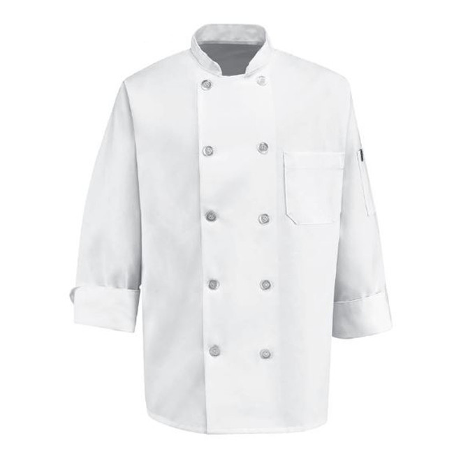 Chef Designs Men's Ten Pearl Button Chef Coat - 0415 / 0423