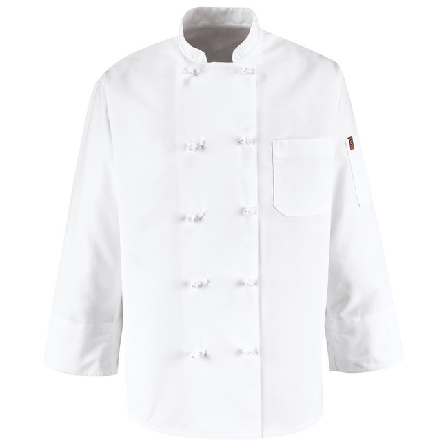 Chef Designs Ten Knot Button Chef Coat - 0421