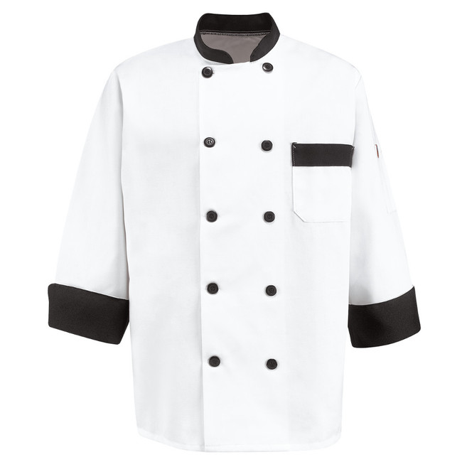 Chef Designs Garnish Chef Coat - KT74