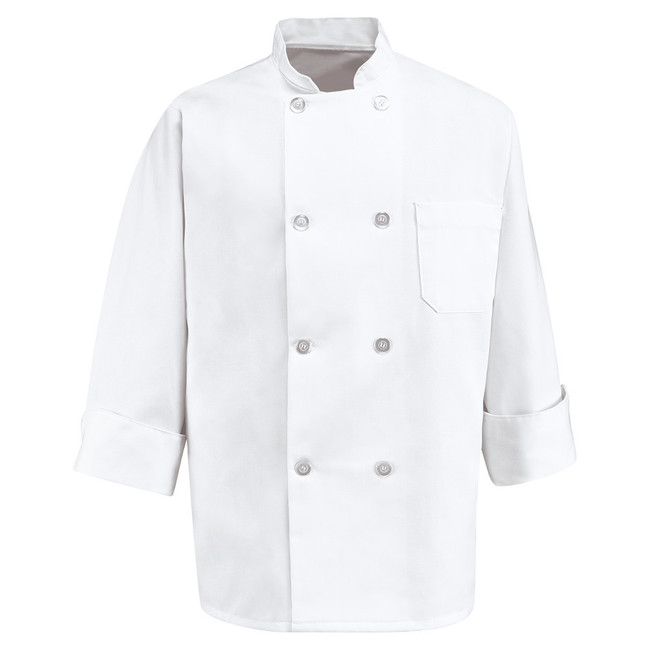 Chef Designs Eight Pearl Button Chef Coat - 0403 / 0413 CopperstoneWorkwear.com