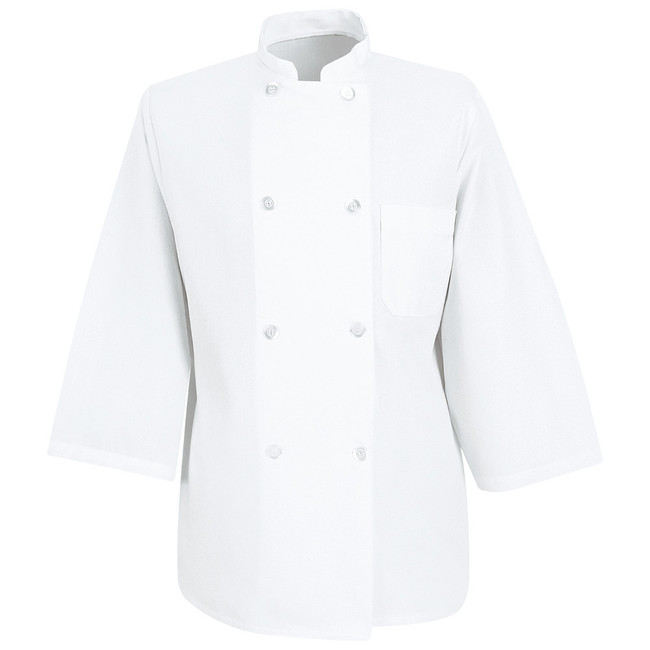 Chef Designs Three-Quarter Sleeve Chef Coat - 0402 CopperstoneWorkwear.com