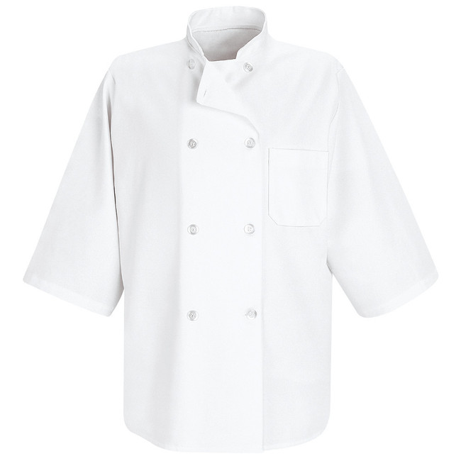 Chef Designs Half-Sleeve Chef Coat - 0404 CopperstoneWorkwear.com