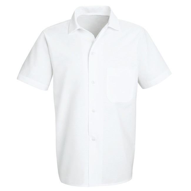 Chef Designs Button-Front Cook Shirt - 5010 White CopperstoneWorkwear.com
