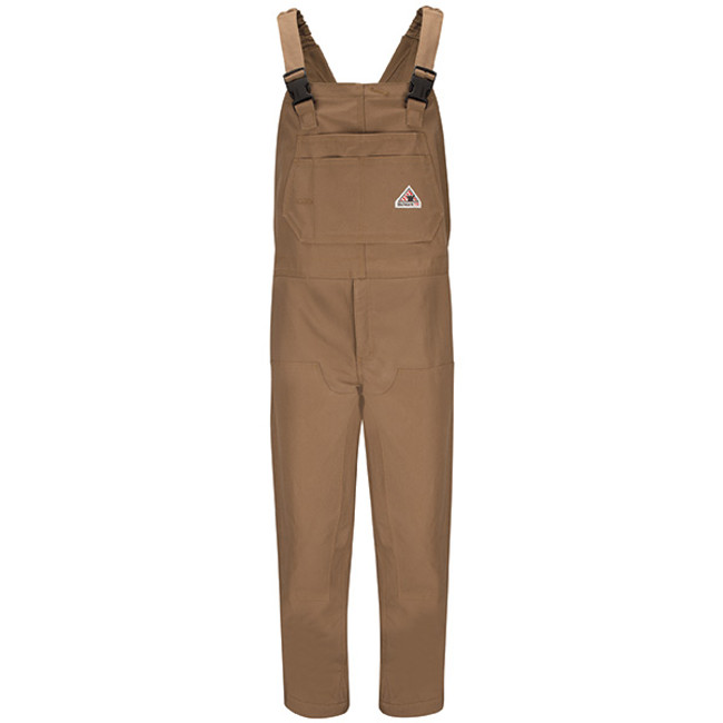 Bulwark FR Flame Resistant Insulated Brown Duck Bib Overall - BLN6