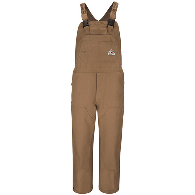 Bulwark FR Flame Resistant Brown Duck Bib Overall - BLF6