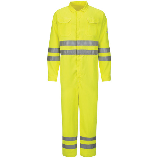 Bulwark FR Flame Resistant Hi-Visibility Deluxe Coverall - CMD8