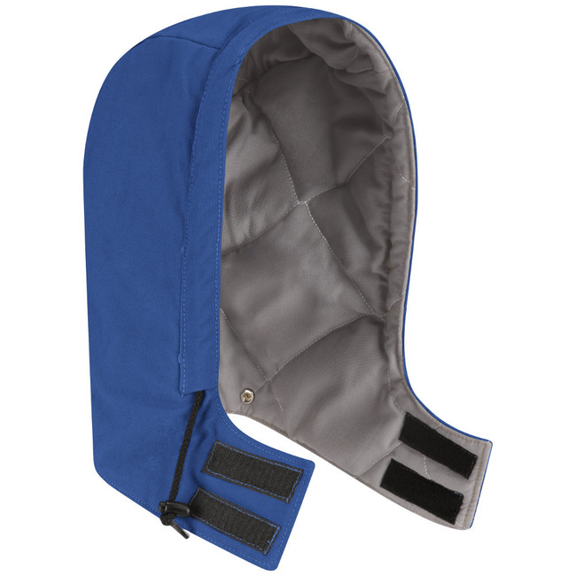 Bulwark FR Flame Resistant Universal Fit Snap-On Hood - Excel FR® ComforTouch - HLH2 Royal Blue