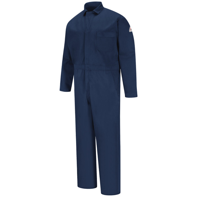 Bulwark FR Flame Resistant Classic Industrial Coverall - Excel FR - CEH2 Navy
