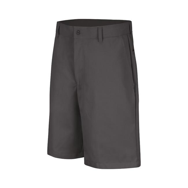 Men's Technician Plain Front Shorts Charcoal - PT26CH Front