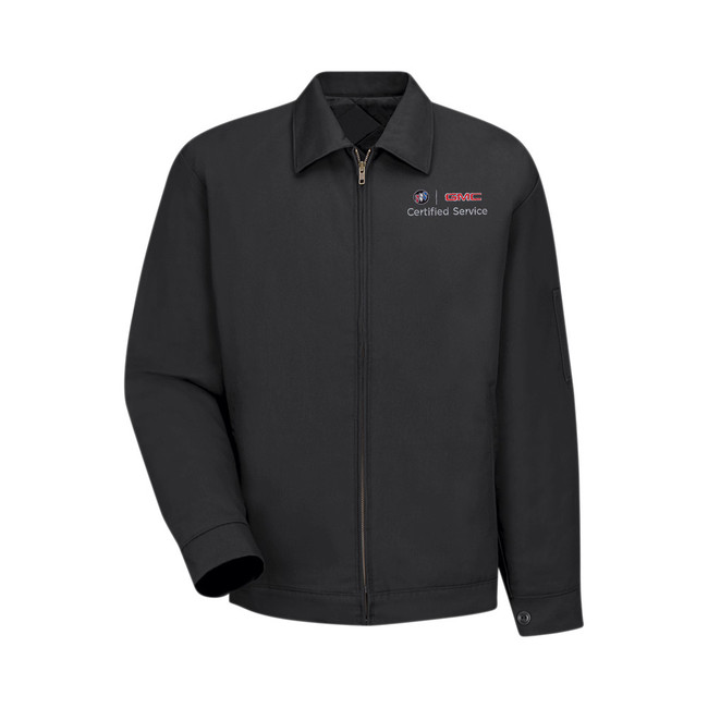 Buick GMC Lined Sash Pocket Jacket by Red Kap - 3184BK