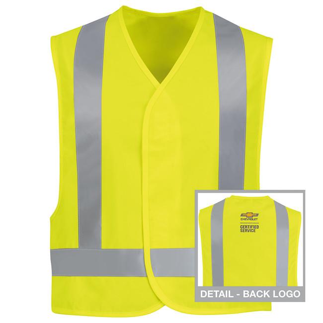 Chevrolet Uniform Hi-Visibility Safety Vest - 7113CV Back