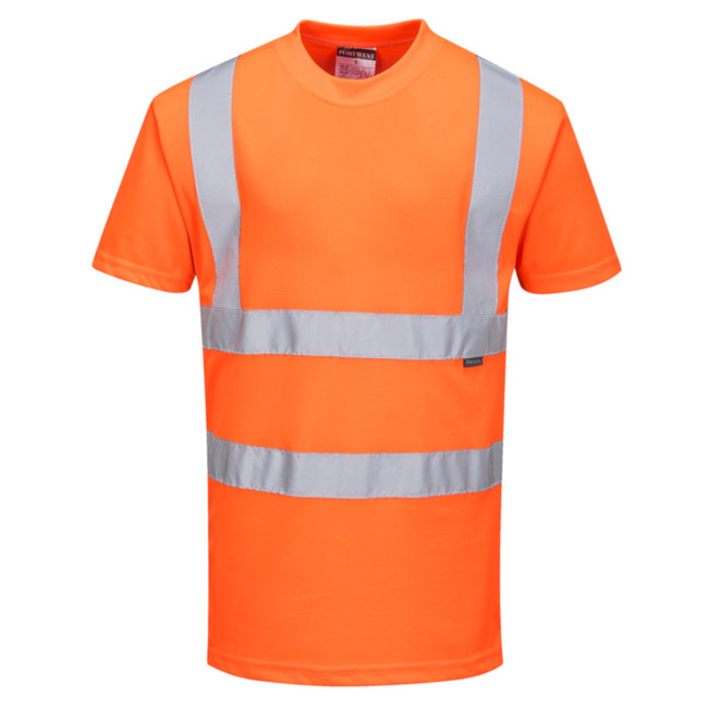 Portwest Hi-Visibility T-Shirt - RT23 Orange with Reflective Tape