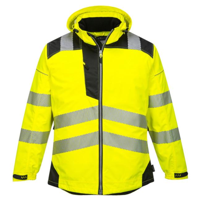 Portwest Vision Hi-Vis Rain Jacket - T400