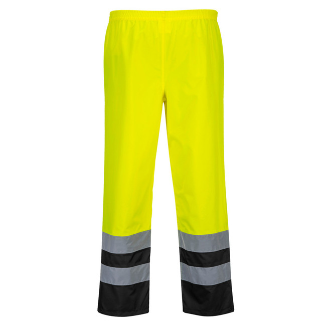 Portwest Hi-Vis Two-Tone Traffic Pants - S486