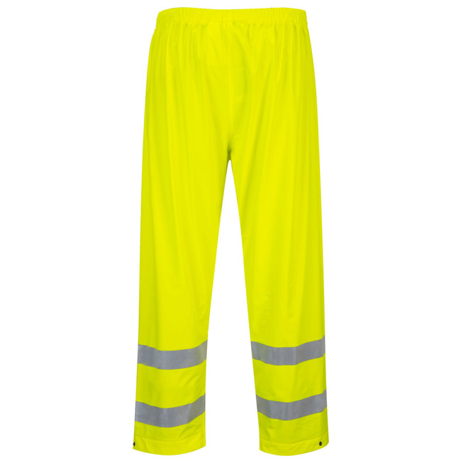 Portwest Sealtex Ultra Reflective Pants - S493 Yellow High Visibility Waterproof Pants