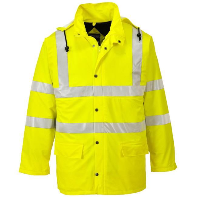 Portwest Sealtex Ultra Lined Jacket - US490 Front View