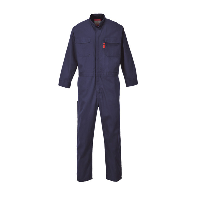 Portwest Bizflame Flame Resistant Coverall - UFR88 Navy