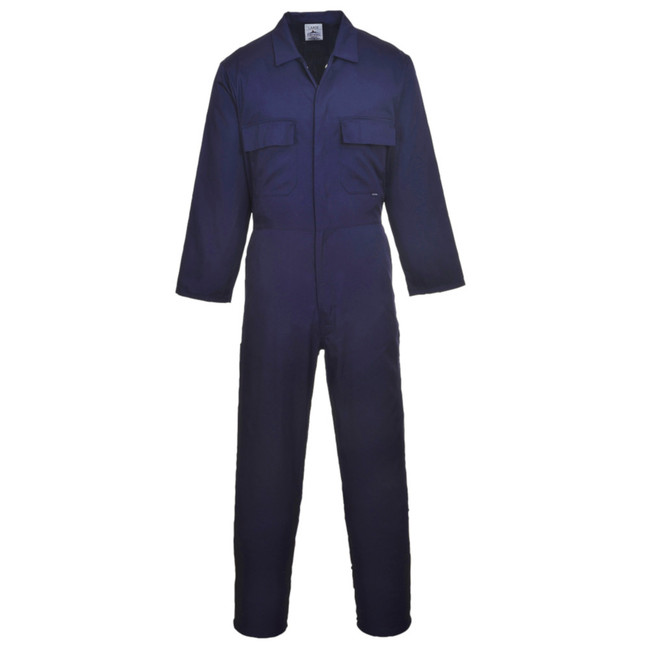 Portwest Euro Work Polycotton Coverall - S999 Navy