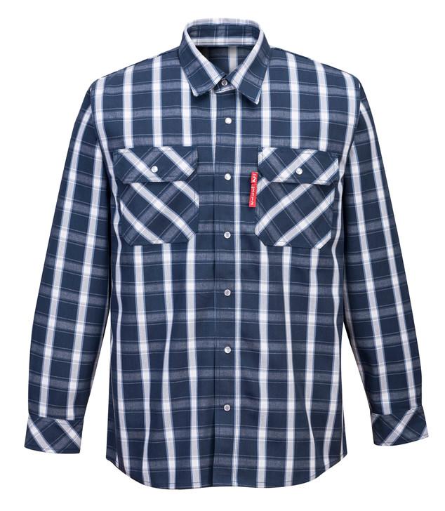Portwest Bizflame 88/12 FR Plaid Shirt - UFR97