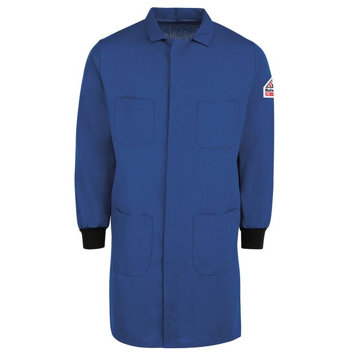Bulwark FR Men's FR Lab Coat with Knit Cuffs - KNC2RB