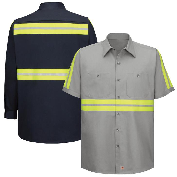 Enhanced Visibility Cotton Work Shirt SC40 SC30