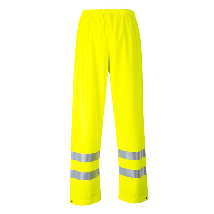 Portwest Sealtex Flame FR Hi-Vis Pants - FR43 Yellow
