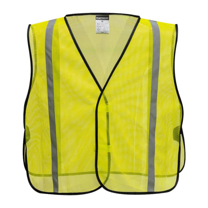 Portwest Non ANSI Mesh Vest - US390 Yellow