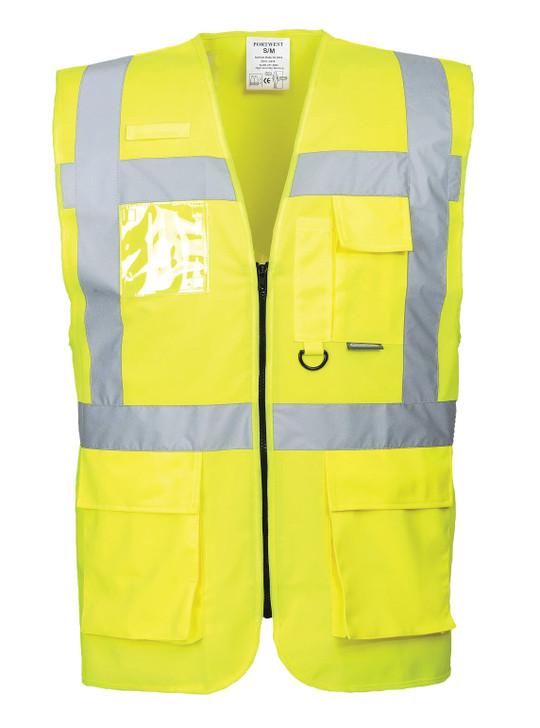 Portwest Berlin Executive Vest - US476 Yellow