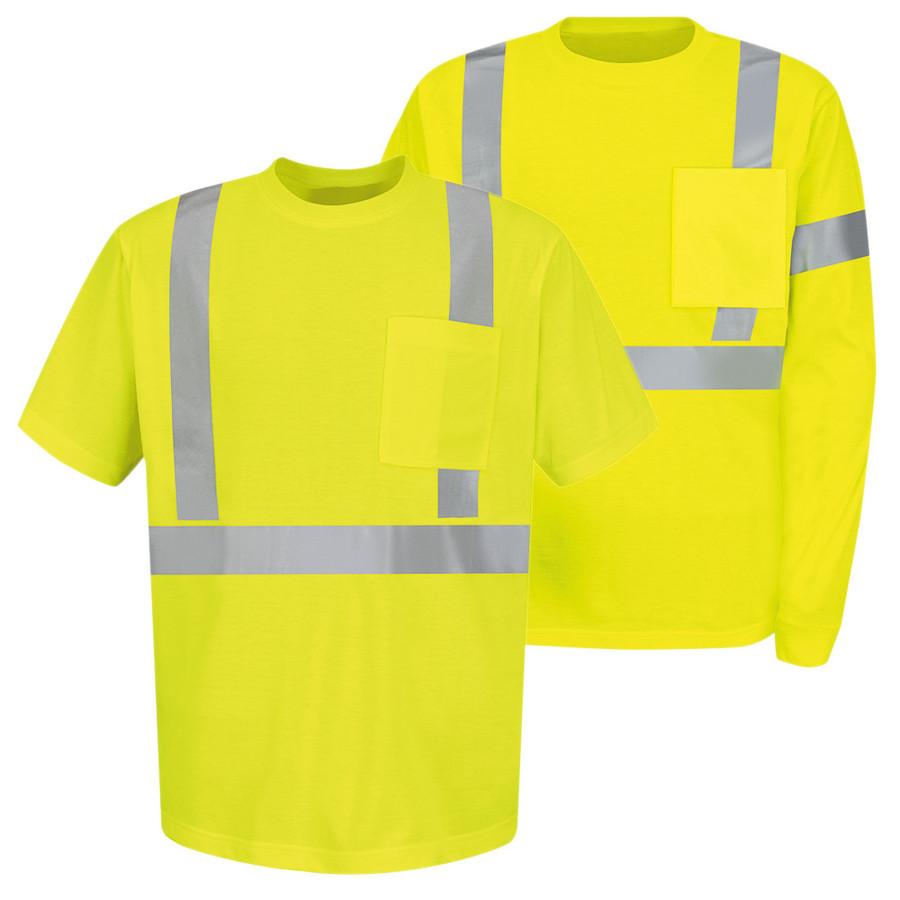 Red Kap Men's Hi-Visibility T-Shirt - SYK6HV / SYK2HV
