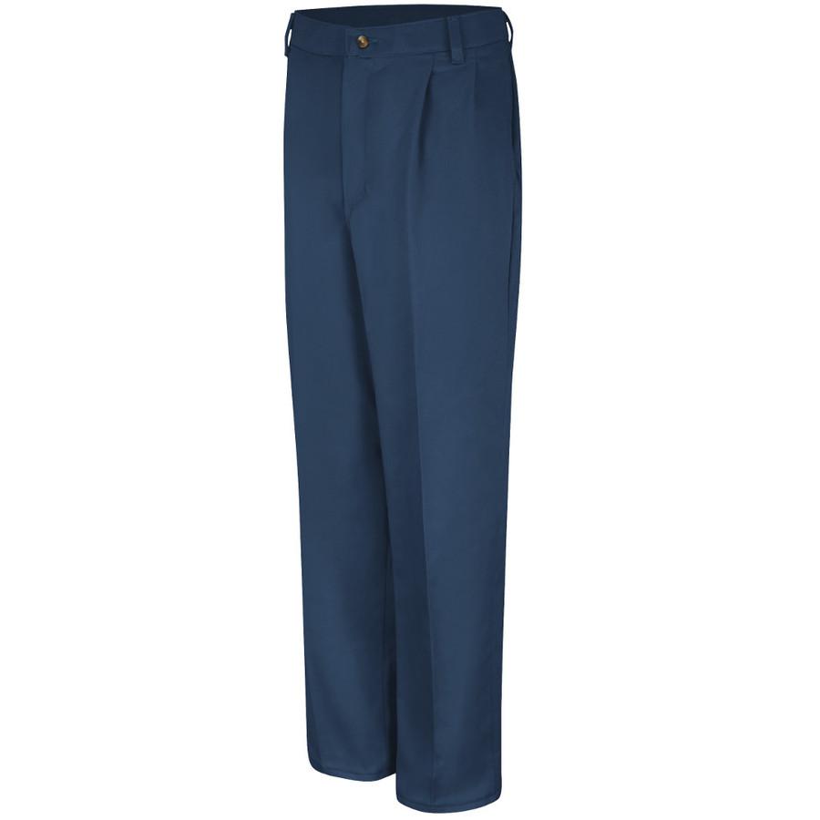Red Kap Men's Pleated Front Cotton Pant - PC46