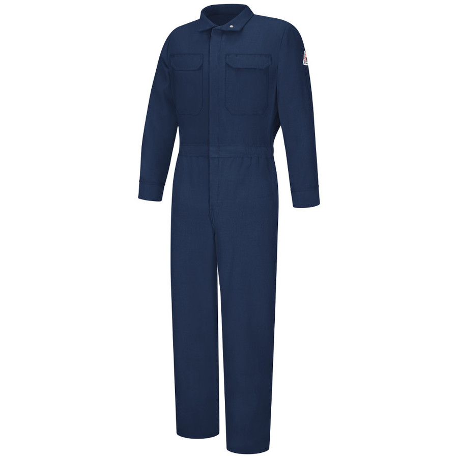 Bulwark FR Flame Resistant Women's Premium Coverall - Nomex IIIA - CNB3 Navy