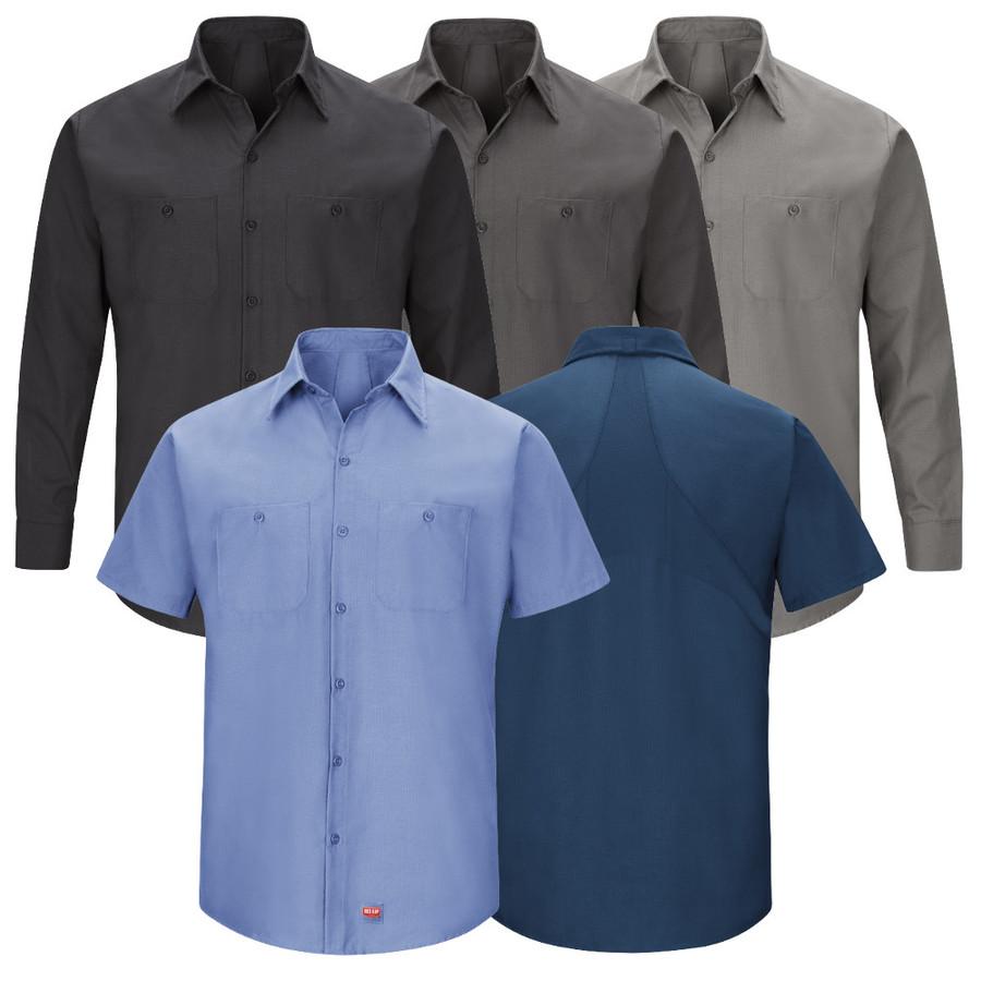 Red Kap Men's MIMIX Work Shirt - SX20 / SX10