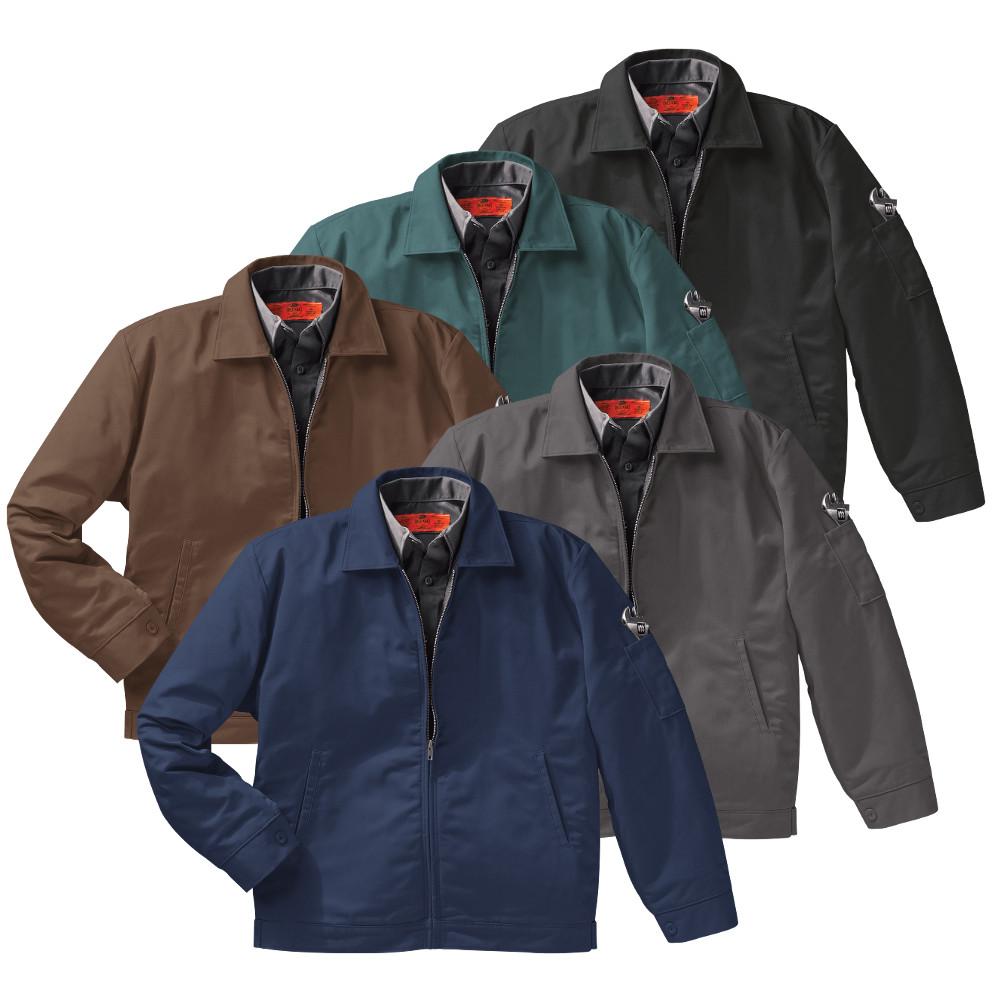 13eccc449a0f89 Red Kap Men's Slash Pocket Jacket 5 Colors JT22
