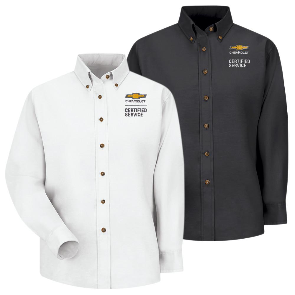 Chevrolet Womens Poplin Shirt