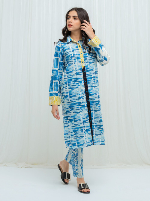 BeechTree 2 Piece Custom Stitched Suit - Blue - LBS14804