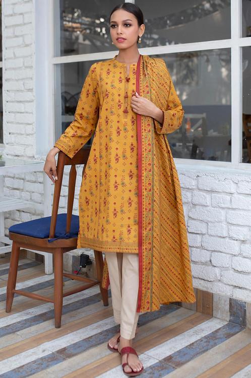 Zeen 2 Piece Custom Stitched Suit - Yellow - LB16094