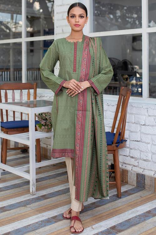 Zeen 2 Piece Custom Stitched Suit - Green - LB16097