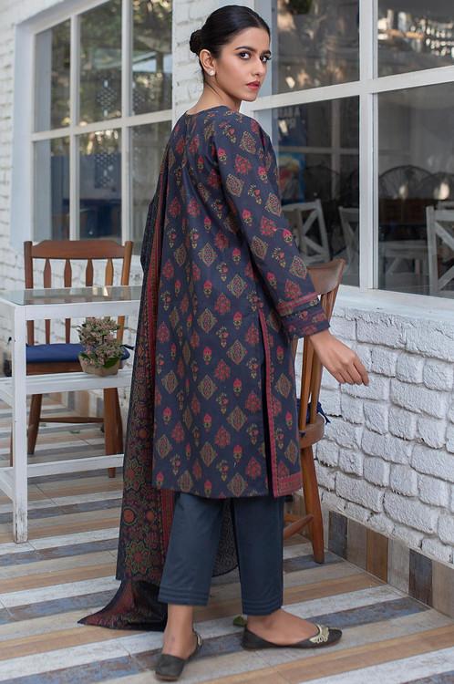 Zeen 2 Piece Custom Stitched Suit - Black - LB16098