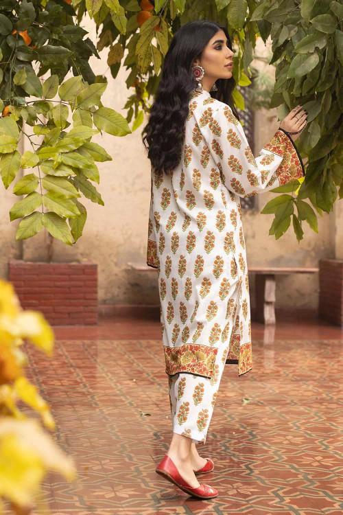 Gul Ahmed 1 Piece Custom Stitched Shirt - Off-White - LB16494