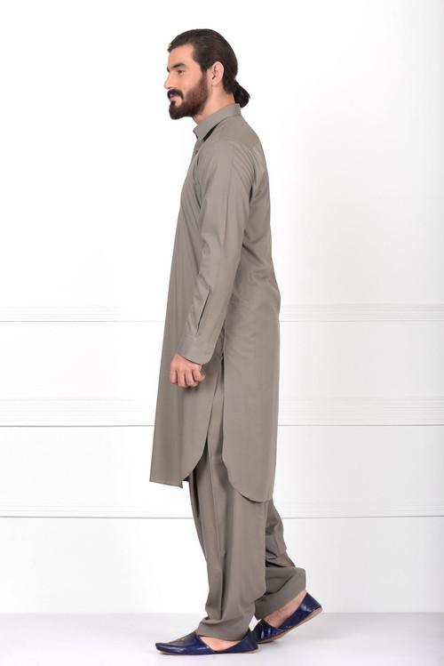 e966c2988f ... Ready to Wear Basic Kameez Shalwar For Men Grey Color -  LC-MSKP17601-Grey ...