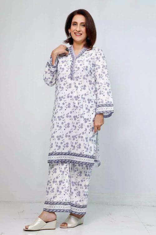 Gul Ahmed 1 Piece Custom Stitched Shirt - Grey - LB16557