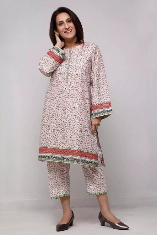 Gul Ahmed 1 Piece Custom Stitched Shirt - Pink - LB16567