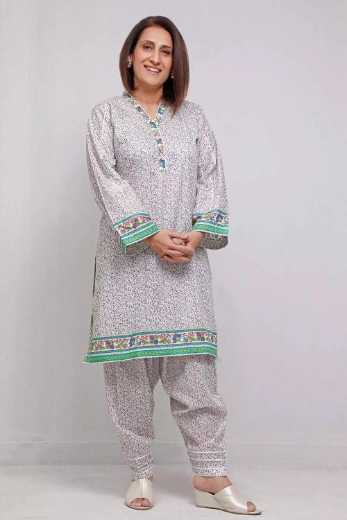 Gul Ahmed 1 Piece Custom Stitched Shirt - Grey - LB16573