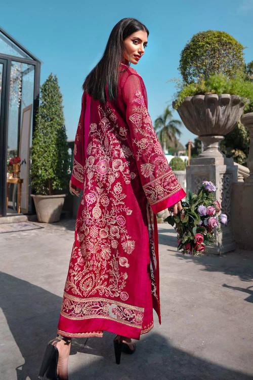 Gul Ahmed 3 Piece Custom Stitched Suit - Purple - LB16846