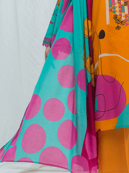 Beechtree 2 Piece Custom Stitched Suit - Orange - LB17208