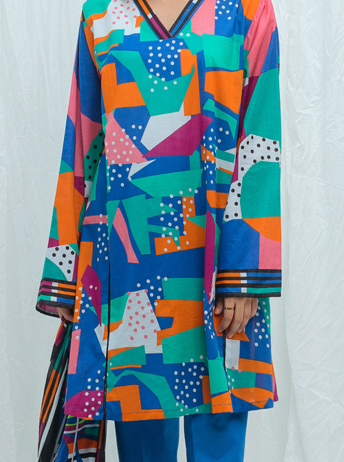 Beechtree 2 Piece Custom Stitched Suit - Blue - LB17215