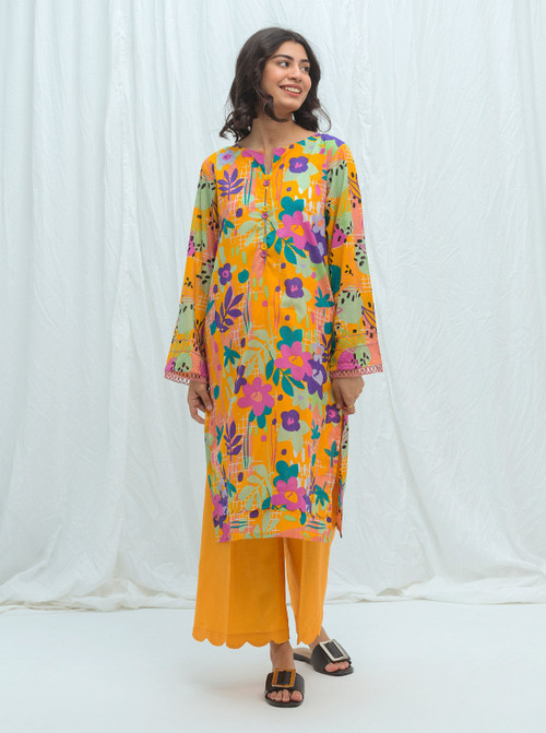 Beechtree 2 Piece Custom Stitched Suit - Yellow - LB17218