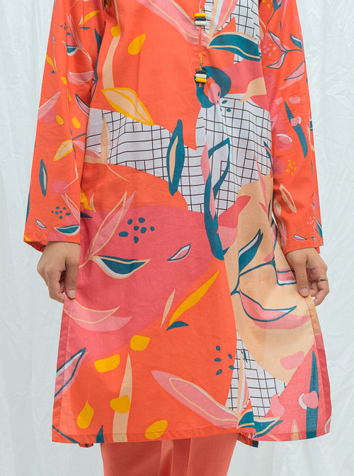 Beechtree 2 Piece Custom Stitched Suit - Pink - LB17219