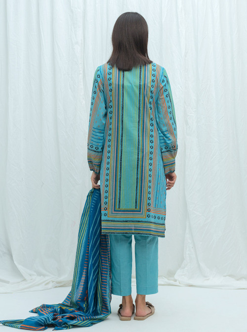 Beechtree 2 Piece Custom Stitched Suit - Blue - LB17223